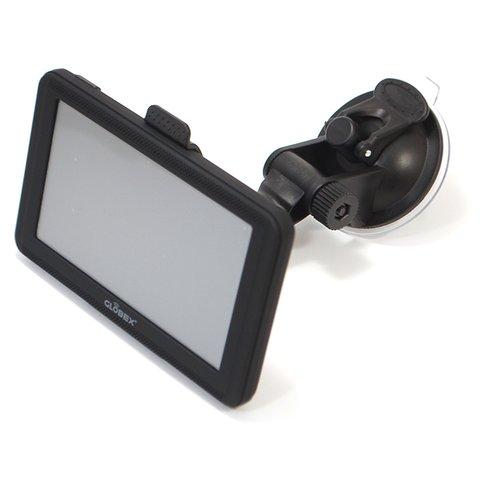 Автомобільний GPS навігатор GE520 з картами Навітел