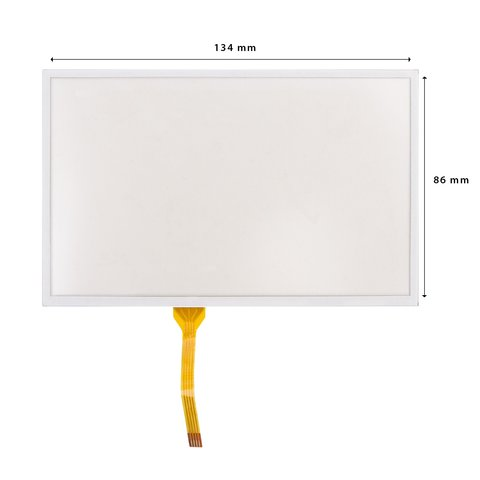 """5.8"""" Universal Flexible Touch Screen Panel with Adhesive Tape"""