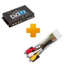 DVB T2 TV Receiver and Connection Cable Kit for Toyota Citroen Peugeot X Touch X Nav Monitors - Short description