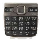 Keyboard Nokia E55, (black, russian)