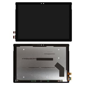LCD for Microsoft Surface Pro 4 Tablet, (black, with touchscreen)