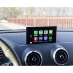 """Android Auto and CarPlay Adapter for Audi Q3 of 2013-2018 MY with 5.8"""" Monitor"""