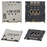 Конектор SIM-карти для Motorola XT1032 Moto G, XT1033 Moto G, XT1036 Moto G, XT890 RAZR i, XT910 Droid RAZR, XT912 RAZR MAXX