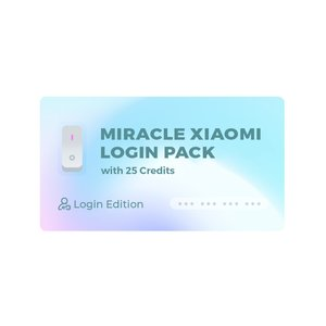 Miracle Xiaomi Tool Pack (Login Edition) c 25 кредитами Miracle Xiaomi (Login Edition)