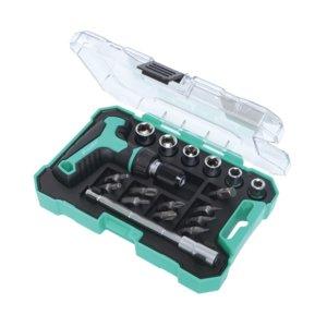 Гнездовой ключ с битами и насадками Pro'sKit SD-2320M