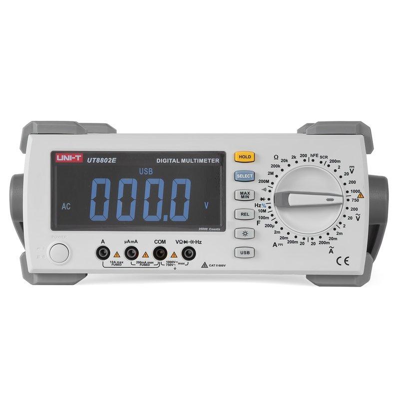 Настільний цифровий мультиметр UNI-T UT8802E Зображення 1