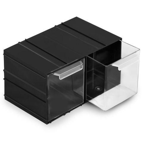 Касетниця модульна з висувними комірками KON-PX2