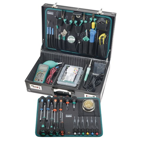 Набір інструментів Pro'sKit PK 15305B для електромонтажу