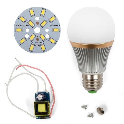 Комплект для збирання світлодіодної лампи SQ-Q22 7 Вт (холодний білий, E27)