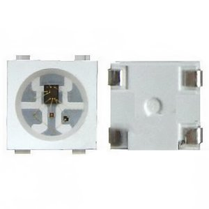 Світлодіод 0.3 Вт (RGB, 4 контакти, WS2812B)