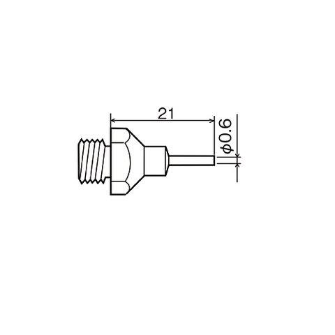 Насадка термофена Goot XNH 06 для Goot XHP 110