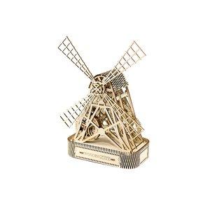 Деревянный механический 3D-пазл Wooden.City Мельница