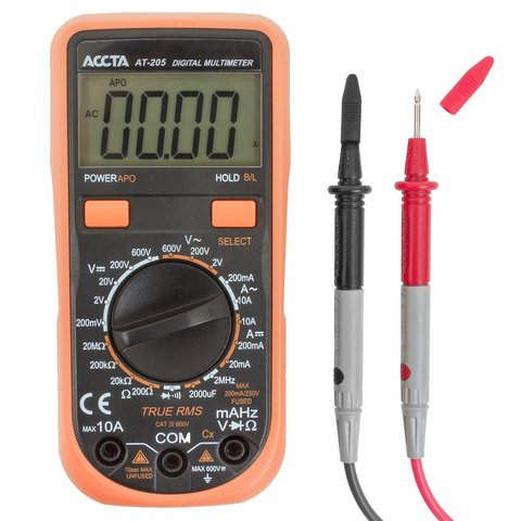 Цифровий мультиметр Accta AT 205