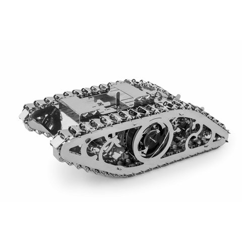 Rompecabezas 3D metálico mecánico Time4Machine Marvel Tank