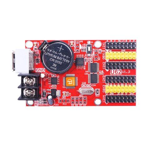 Huidu HD U62 USB LED Display Module Control Card 768×64, 1536×32